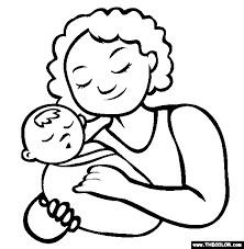 Small Picture Good Mom Coloring Pages 84 For Your Coloring Books with Mom
