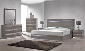 light grey bedroom furniture. enzo grey lacquer bed with led lights light bedroom furniture c