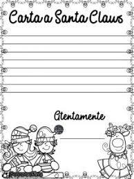 Lindos Formatos Para Escribir La Carta A Santa Claus Material