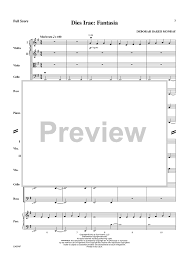 dies irae sheet music dies irae fantasia score sheet music for piano and more