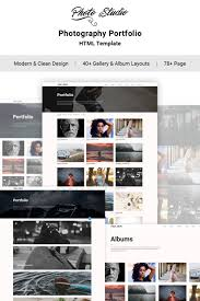 Photo Studio Photo Portfolio Creative Website Template