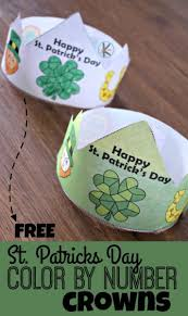 At first, ask students to fill in the words for the colors they already know. Free Printable St Patricks Day Color By Number Printable Hats