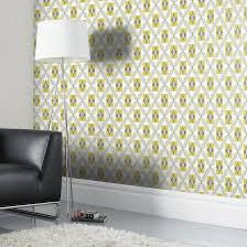 Orsino Yellow Wallpaper | Departments | DIY at B&Q