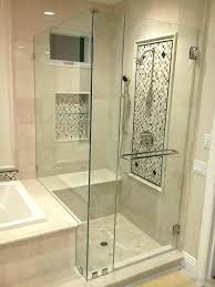 shower door installation cost cost to install shower door install glass shower door attractive seamless glass