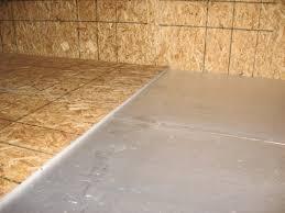 images of vinyl floor over osb