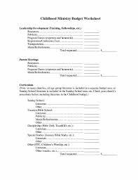 Budget Request Form Church Ministry Budget Request Form LAOBINGKAISUOCOM 12