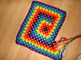 Crochet Never Ending Granny Square & Bernat-Rainbow-Afghan Crochet Granny ... Adamdwight.com