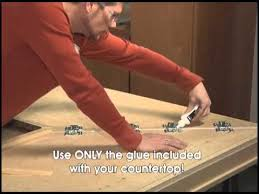 laminate countertops installation instruction