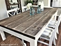 White Distressed Kitchen Table White Farm Table Images The Elegant House A Farmhouse Coffee