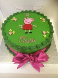 Peppa Pig Birthday Cake Picture Of Baytree Tea Room And Restaurant