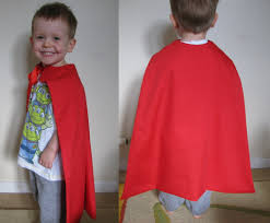 Childs Cape Pattern Stunning How To Make A Kids Cape DAILY WAFFLE