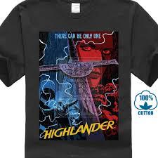 Streetwear Shirt Designs Us 6 87 14 Off Highlander Movie Mens Funny Tshirts Japanese Streetwear Tee Shirt Designer T Shirt Custom T Shirts For Men In T Shirts From Mens