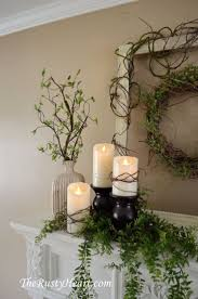 Best Spring Fireplace Mantel Ideas Artistic Color Decor Cool To