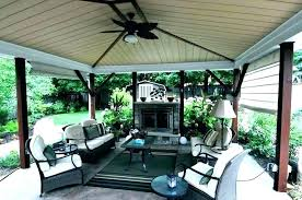 covered outdoor porch fireplace screened with patio back yes ideas covered porch with fireplace