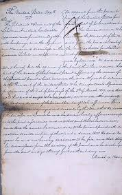 the amistad case national archives detail of supreme court opinion us v the amistad