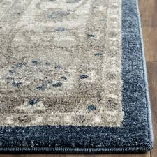 rugs curtains traditional grey blue rug for exciting