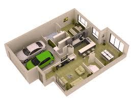 Small Modern Home Plans  Small House LoverSmall Home Plans With Garage