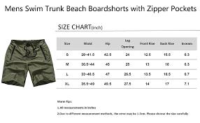 Swim Trunk Size Chart Madhero Men Board Shorts No Mesh Swim Trunk Zipper Pockets Swimwear