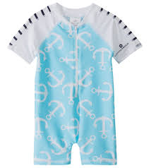 Snapper Rock Size Chart Snapper Rock Boys Anchor S S One Piece Sunsuit 0 24mos At
