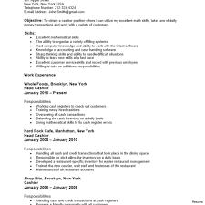 Grocery Store Cashier Job Description For Resume Cashier Job Description Resume Customer Service Sample 60a Best 45