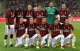 ac milan. the match ac milan a