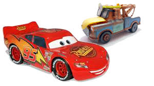 disney cars lightning mcqueen radiator springs tow mater best friends forever puppy guessing game