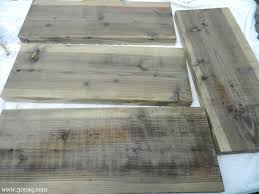 Rustoleum Driftwood Stain Age New Wood To Weathered Gray Driftwood Look By Disolving Steel