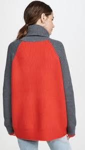 <b>Victoria Victoria Beckham</b> Объемный <b>свитер</b> с воротником под ...