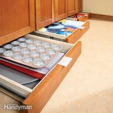Kitchen Cabinets Doors And Drawers Extraordinary How To Build UnderCabinet Drawers Increase Kitchen Storage The
