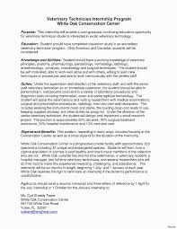 40 Beautiful Vet Tech Cover Letter Awesome Resume Example