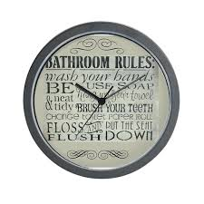 bathroom wall clocks bathroom wall clocks decorative bathroom wall clocks