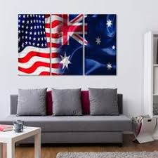 usa and australia flag multi panel canvas wall art on cheap wall art canvas australia with 71 best flags images on pinterest canvas art paintings art walls