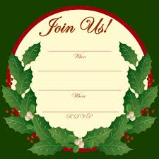 Printable Holiday Party Invitations Free Printable Christmas And New Year Party Invitations Hubpages