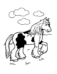 Cute Horse Coloring Page H M Coloring Pages
