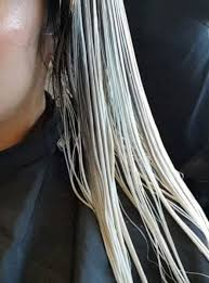 expect after you bleach your asian hair