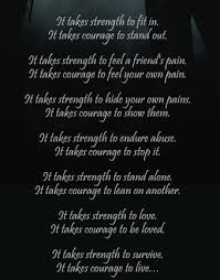 Quotes About Strength And Love Magnificent It Takes Strength To Love It Takes Courage To Be Loved Quotes