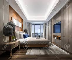 luxury modern bedroom.  Luxury 3d Rendering Luxury Modern Bedroom Suite In Hotel Banque Du0027images   105319680 On Luxury Modern Bedroom A