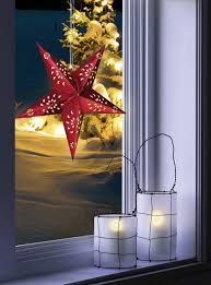 Polarlite Led Weihnachtsstern Led Rot Eek Led A E Mit Ausgestanzten Motiven