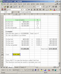 How To Make An Organizational Chart In Excel 2003 Ms Excel 2003 Function To Calculate Total Cost Based On A