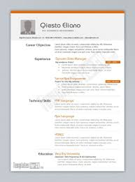 Microsoft Word Resume Template For Study Templates 20 Sevte
