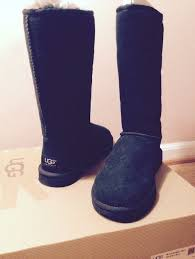 ... 2 sz 5 ugg australia classic tall womens orig warm boots black model
