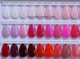 Cnd Shellac Color Chart Esthers Nail Corner