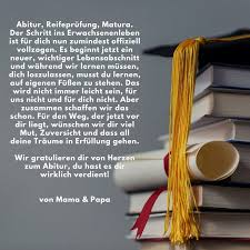Glückwünsche Abitur Von Mama Und Papa Gratulieren Sprüche Abitur