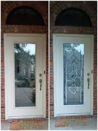 front door door glass inserts