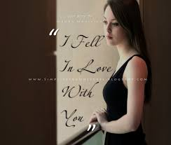 Beautiful Girl In Black Dress Quotes Best Of I Fell In Love With You Love Story Manas Madrecha