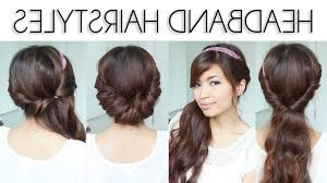 easy hairstyles for long thick hair long wavy hairstyle for thick hair with fishtail nice easy