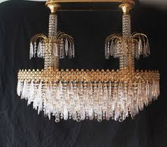 vintage murano glass swarovski crystal chandelier 1980s for at pamono