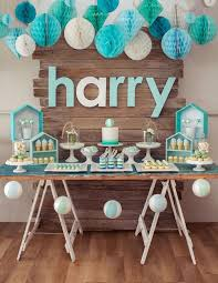 sweet table from a rustic beach ball birthday party via kara s party ideas karaspartyideas 28