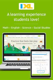 Ixl Math Language Arts Science Social Studies And Spanish