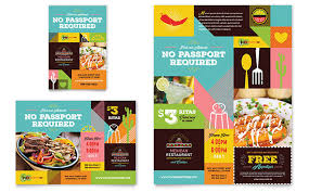 The Flyer Ads Mexican Food Cantina Flyer Ad Template Design